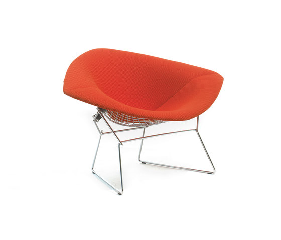 Bertoia large Diamond Chair by Knoll International | Lounge chairs