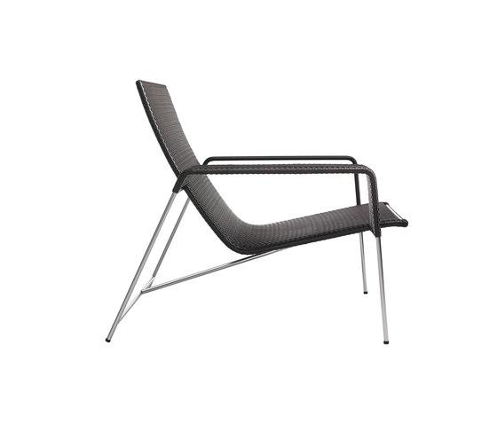 Moka arm chair by Point | Garden armchairs
