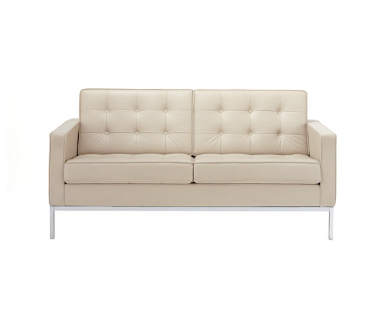 Florence Knoll Lounge 2 seat sofa by Knoll International | Lounge sofas