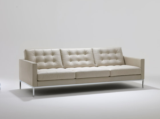Florence Knoll Lounge 3 seat sofa by Knoll International | Lounge sofas