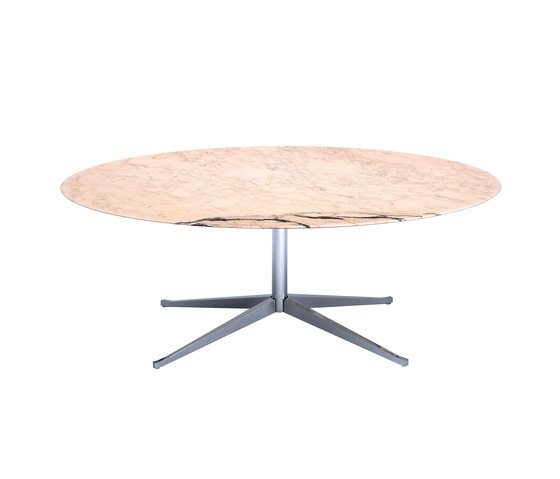 Table Knoll ronde bois  large choix table Knoll ronde bois
