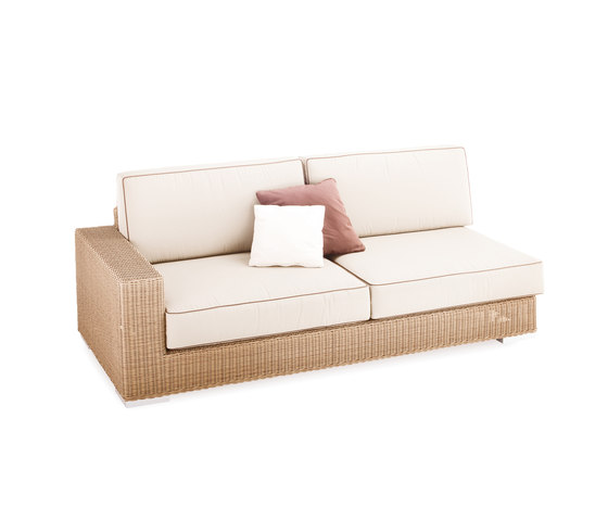 Golf sofa 3 right arm by Point | Garden sofas