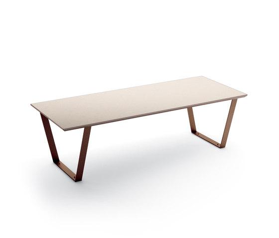 Cicada table von Metalco Home | Garten-Esstische