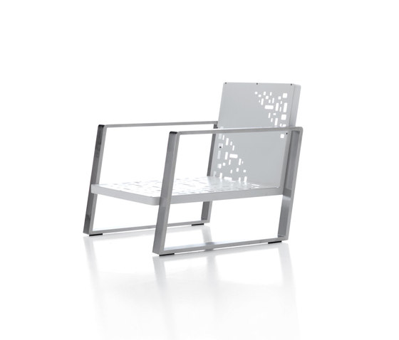 Cossyra armchair by Metalco Home | Garden armchairs