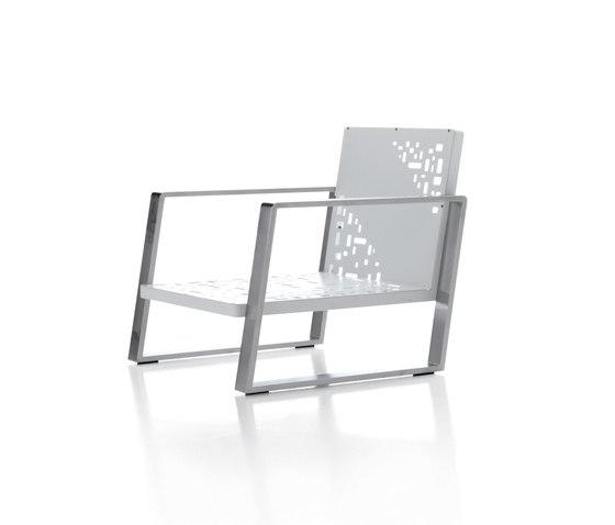 Cossyra armchair de Metalco Home | Fauteuils de jardin