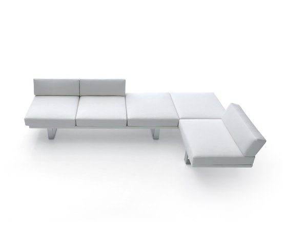 Isola Cossyra sofa by Metalco Home | Garden sofas