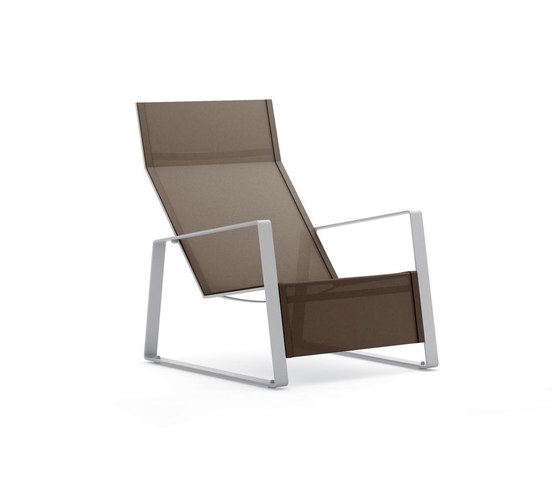LaPoltrona chaise longue by Metalco Home | Garden armchairs