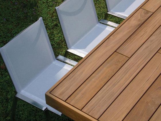T Table table de Metalco Home | Mesas de comedor de jardín