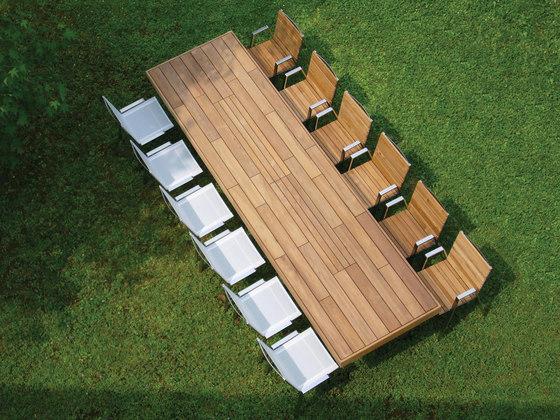 T Table table von Metalco Home | Garten-Esstische