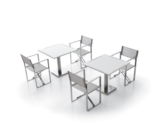 Vento table by Metalco Home | Bistro tables