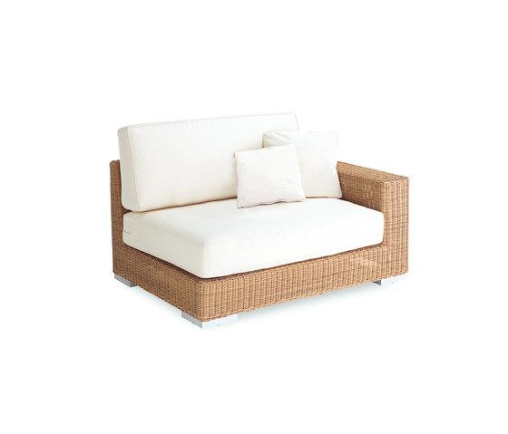 Golf sofa 2 left arm by Point | Garden sofas