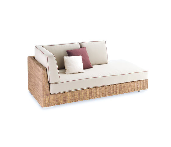 Golf corner modular part left arm by Point | Garden sofas