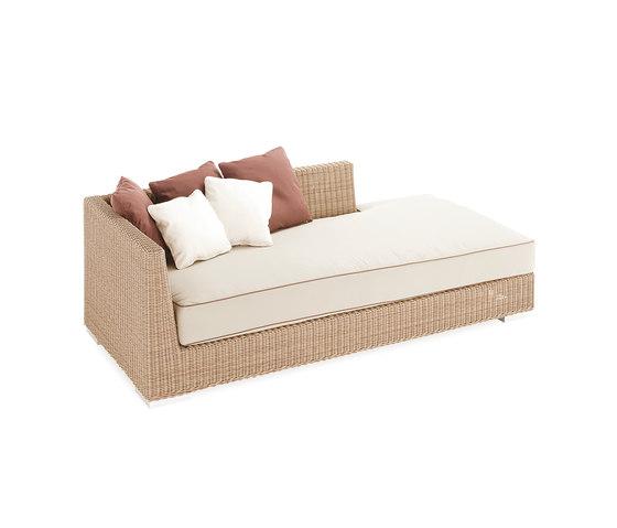 Golf sun bed left arm by Point | Garden sofas