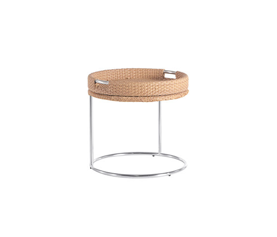 Combi round table with tray by Point | Side tables