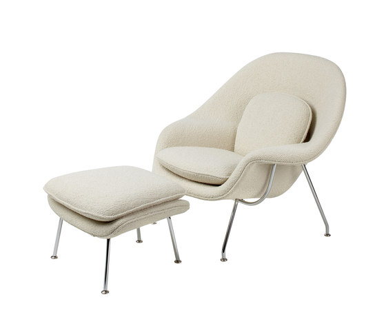 Saarinen Womb Stuhl & Ottoman von Knoll International | Sessel