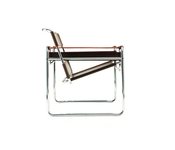 Wassily Lounge Chair by Knoll International | Visitors chairs / Side chairs
