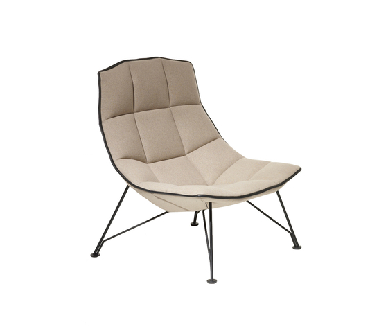Jehs & Laub Chauffeuse de Knoll International | Fauteuils d'attente
