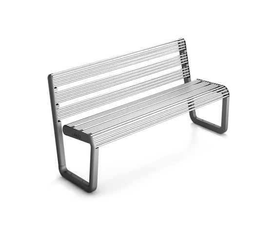 Eco Bench Steel by LAB23 | Exterior benches