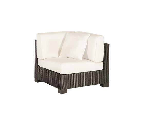 Box corner modular part by Point | Garden armchairs