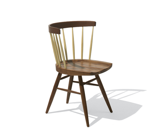 Nakashima Straight Chair de Knoll International | Sillas para restaurantes