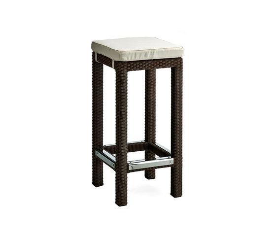Box bar stool di Point | Sgabelli bar da giardino