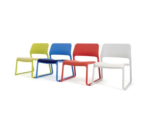 Spark Lounge Stuhl von Knoll International | Loungesessel