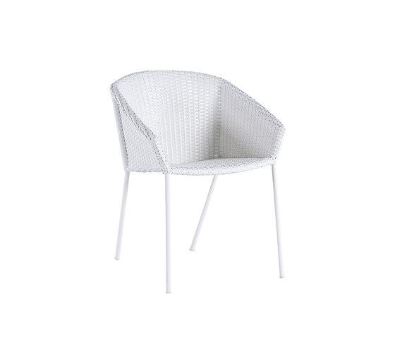 Colors armchair di Point | Sedie da giardino
