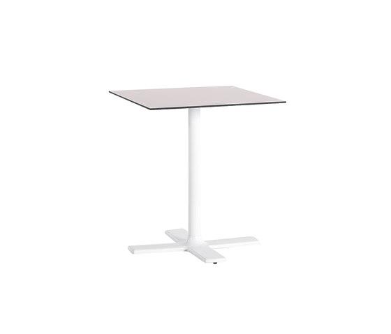 Colors Tisch quadratisch 70 von Point | Garten-Esstische
