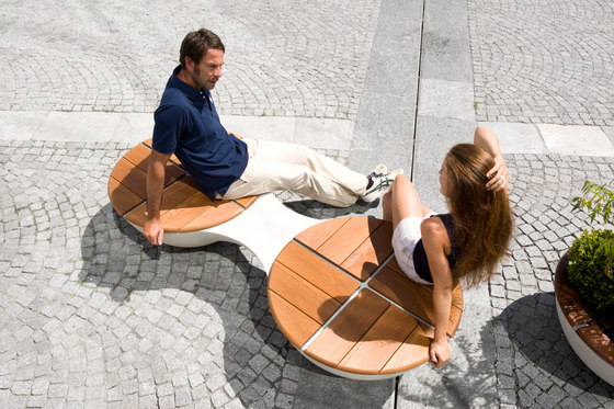 Union Bench Outdoor by BEAU&BIEN | Exterior chairs