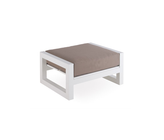 Weekend foot stool by Point | Garden stools