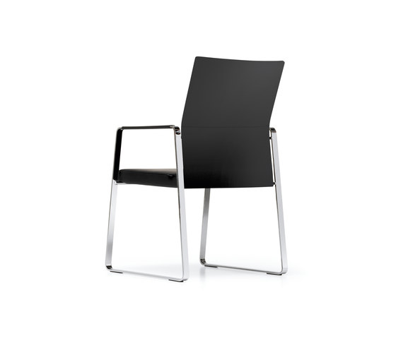 CORPO Cantilever chair de Girsberger | Sillas de conferencia