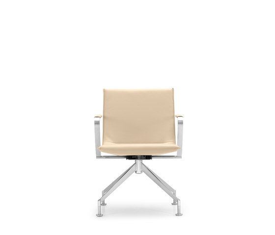 JACK 4-legged chair de Girsberger | Sillas de conferencia