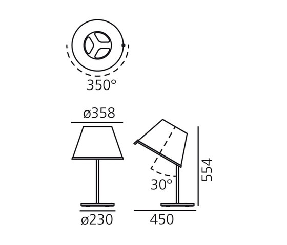 Choose Table Lamp by Artemide | General lighting