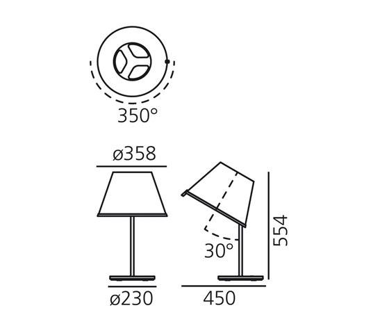 Choose Tischleuchte von Artemide | Allgemeinbeleuchtung