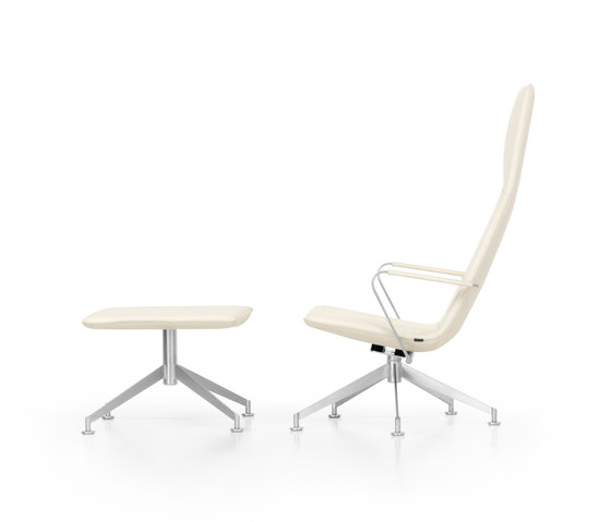 JACK Loungechair rotatable by Girsberger | Lounge chairs