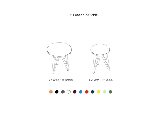 JL2 Faber Side Table by LOEHR   Side tables