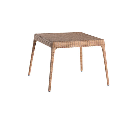 Green square dining table by Point | Dining tables