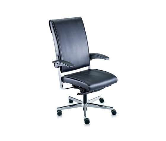Sitagone De Luxe Swivel chair by Sitag | Management chairs