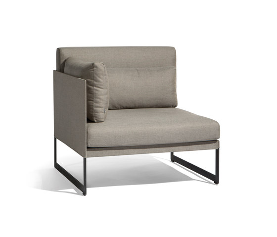 Squat 1 seat by Manutti | Garden armchairs