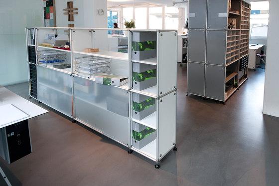 constructiv PON Office von Burkhardt Leitner | Raumteilsysteme
