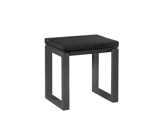 Fuse Bench 45 cushioned by Manutti | Garden stools