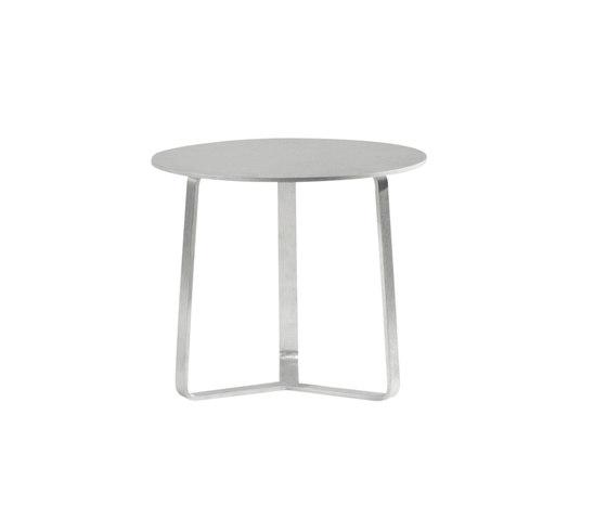 Round sidetable 48 di Manutti | Tavolini di servizio da giardino