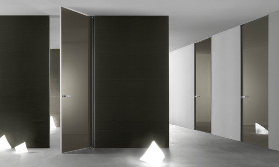 Aura di Rimadesio | Glass room doors