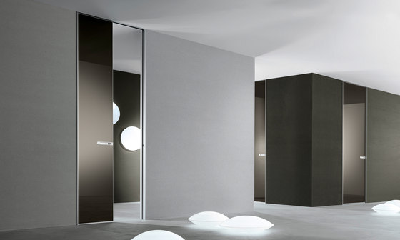 Aura by Rimadesio | Glass room doors