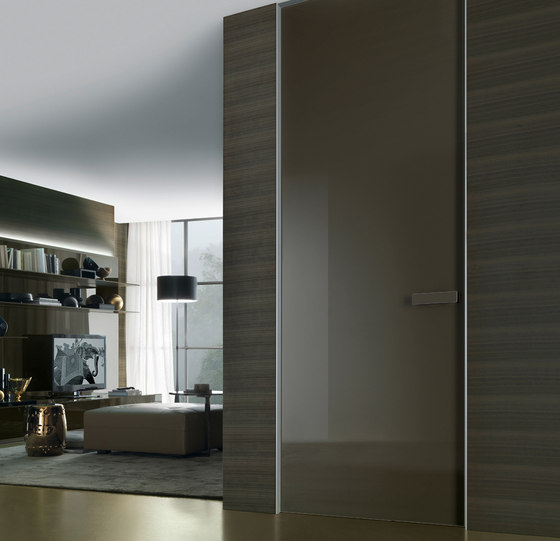 Aura de Rimadesio | Glass room doors