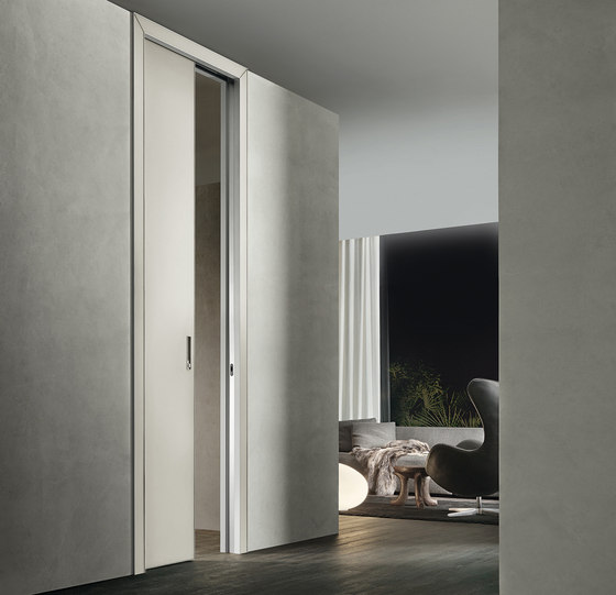 Luxor di Rimadesio | Glass room doors