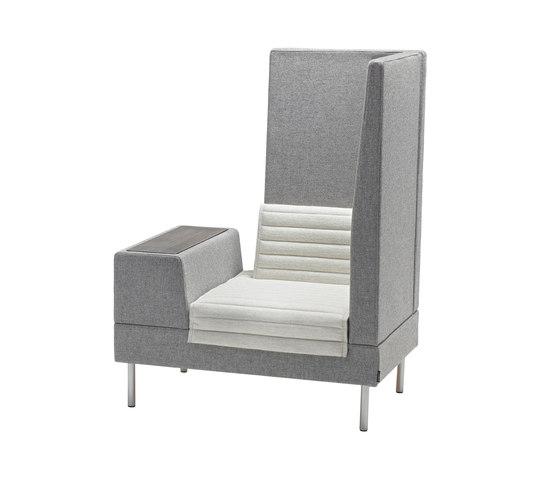 Smallroom Plus de OFFECCT | Éléments de sièges modulables