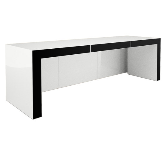 OPERARIUS Desk de Rechteck | Tables multimédia