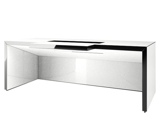 REGERE Desk de Rechteck | Tables multimédia