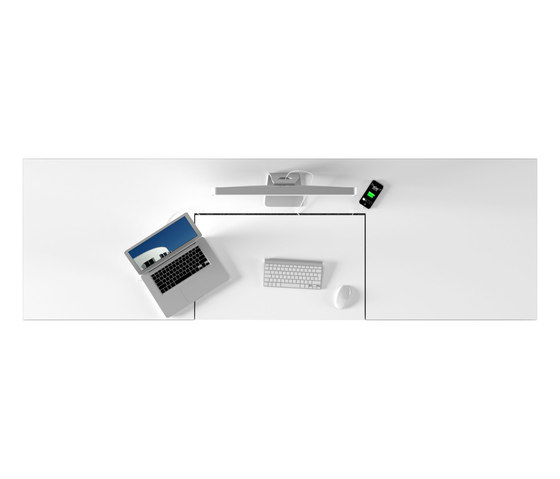 REGERE Desk de Rechteck | Tables multimédia